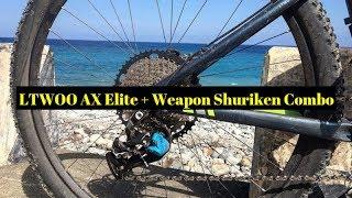 LTWOO AX Elite und die Waffe Shuriken In-depth Review