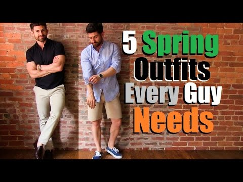 5 Spring Outfits Every Guy Needs In His Wardrobe
