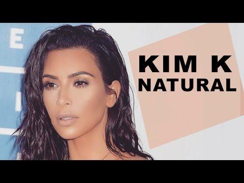 Natural Glowing Everyday Makeup | Kim Kardashian 2017 No-Makeup Makeup