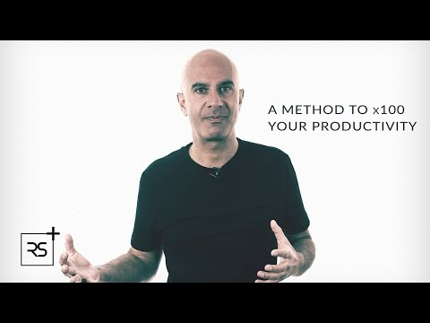A Method To x100 Your Productivity | Robin Sharma
