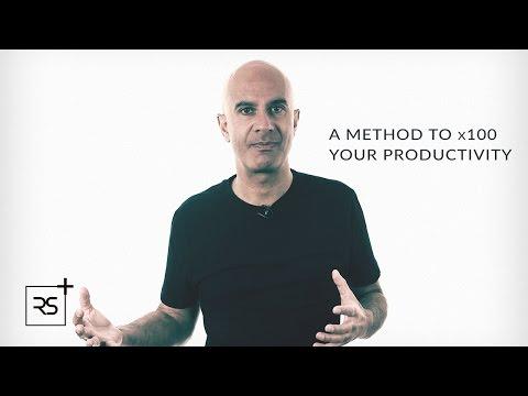 A Method To x100 Your Productivity | Robin Sharma