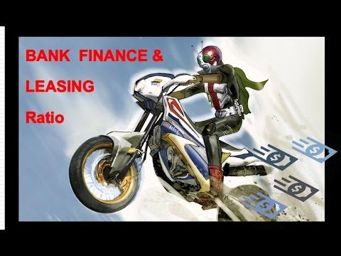 Bank Finance and leasing ratio