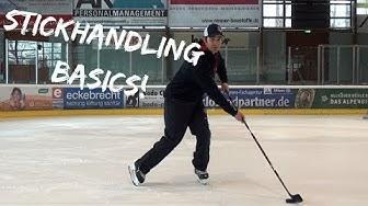 Eishockey Stickhandling: die Basics!