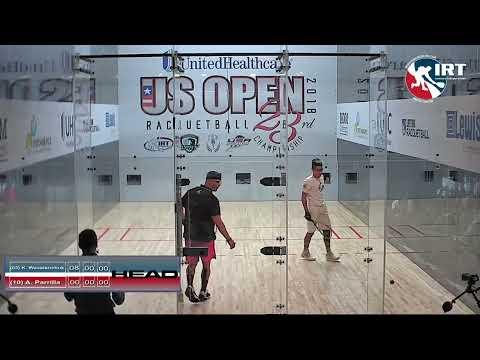 2018 US Open: Semi-Final: K. Waselenchuk vs A. Parilla