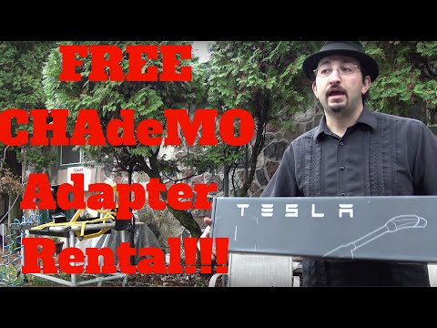 Tesla Motors: Borrow CHAdeMO Adapter for Free! N.A. Adapter Loan!