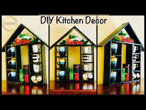 Amazing Kitchen Decor and Storage Idea| gadac diy| craft ideas diy| home decorating ideas| diy craft