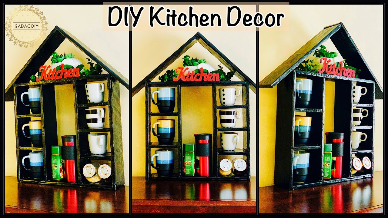 Amazing Kitchen Decor And Storage Idea Gadac Diy Craft Ideas Diy Home Decorating Ideas Diy Craft