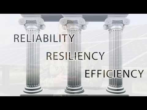 October is Energy Action Month Message - Reliability Resiliency Efficiency