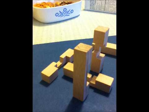 6burr Wooden Block Puzzle Youtube