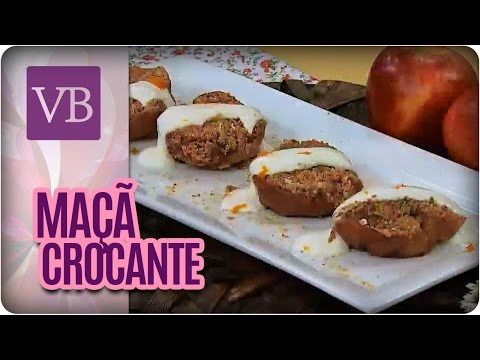 Maça com Farofa Crocante - Você Bonita (26/05/16)