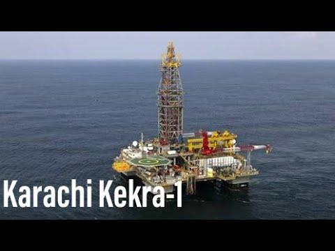 kekra 1 Karachi drilling | Oil and gas in Karachi Sea | offshore drilling Karachi | Dekho Suno Samjh