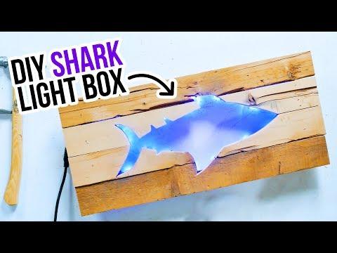 DIY Shark Light Box - HGTV Handmade