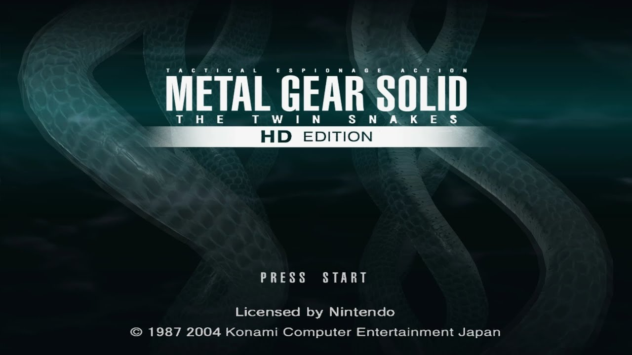 Metal Gear Solid: The Twin Snakes - Dolphin Emulator Wiki