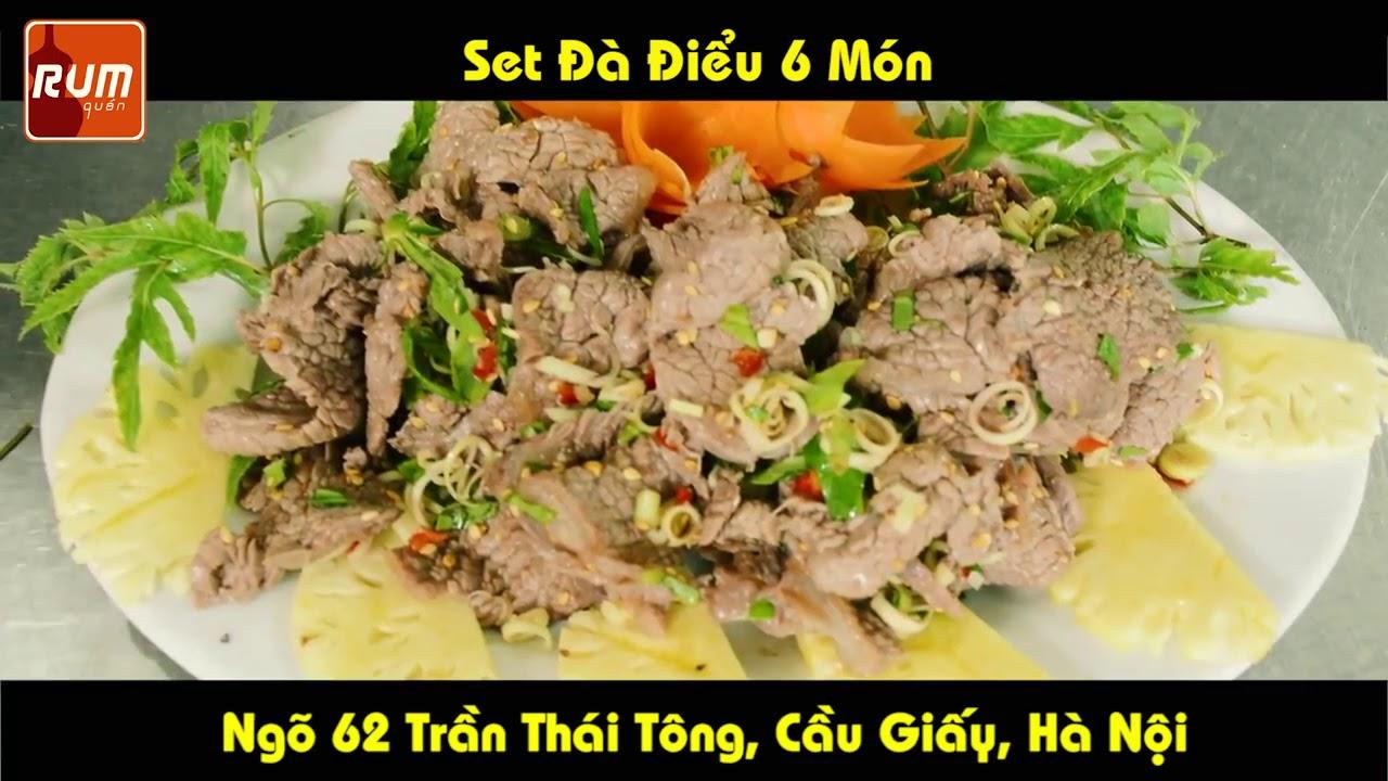 Thịt Đà Điểu 6 món, ngon không cưỡng nổi, Ẩm thực tây bắc - Nhà Hàng Pao Quán