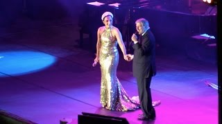 Lady Gaga performing with Tony Bennett at La Grand Place in Brussels, Belgium Part 1