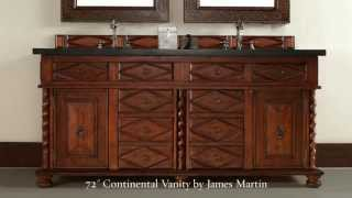 Continental Solid Wood Bathroom Vanity Collection By James Martin From Homethangs.com