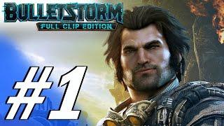 Bulletstorm: Full Clip Edition (PS4) - Gameplay Walkthrough Part 1 - Prologue