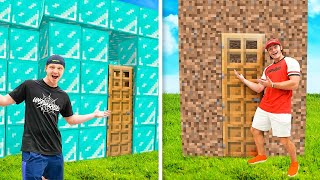 I Hosted A $10,000 Minecraft Build Battle in Real Life!