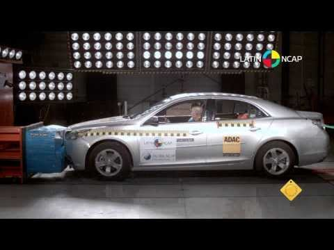 Chevrolet Malibu (10 airbags) - Crash Test - Latin NCAP 2013