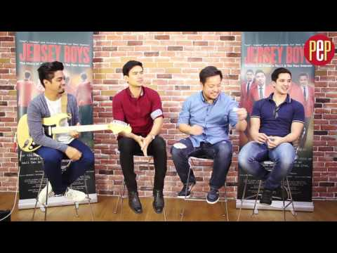 Jersey Boys play the PEP Challenge Musical Impressions