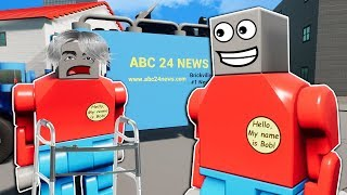 Idiots Get Jobs Creating Fake News! - Brick Rigs Multiplayer Roleplay
