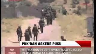 PKK Pususuna TSK'dan Cevap: Valla Meşru Müdafaydı!