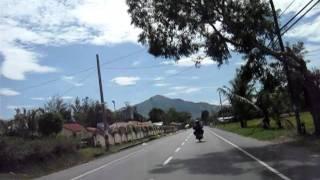 Road to San Antonio, Zambales, Philippines.