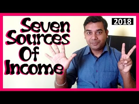 Seven Sources of Income | New Year's Resolutions 2018 | The Indian Freelancer