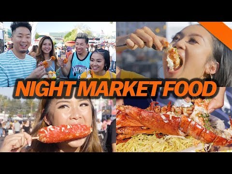 FOOD AT AMERICA'S BIGGEST NIGHT MARKET - Fung Bros Food