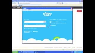 윈도우XP 스카이프 다운 설치