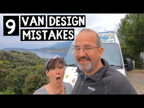 9 THINGS we HATE about our VAN | Van Life design MISTAKES