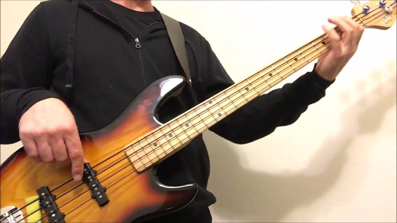 Midnight Train To Georgia Bass Cover Youtube