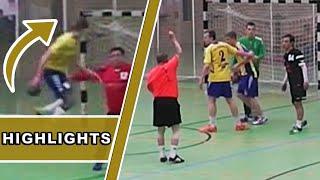2 NO-LOOK-TORE + 2 ROTE KARTEN // Handball Highlights