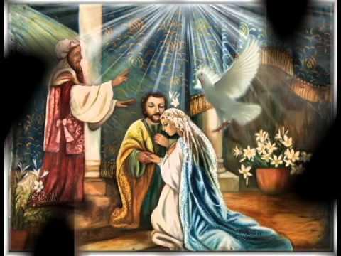 El Angel Gabriel Y Maria
