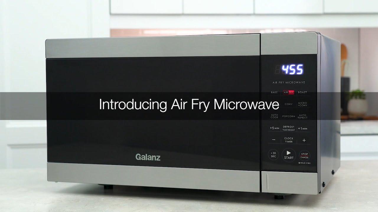 introducing air fry microwave