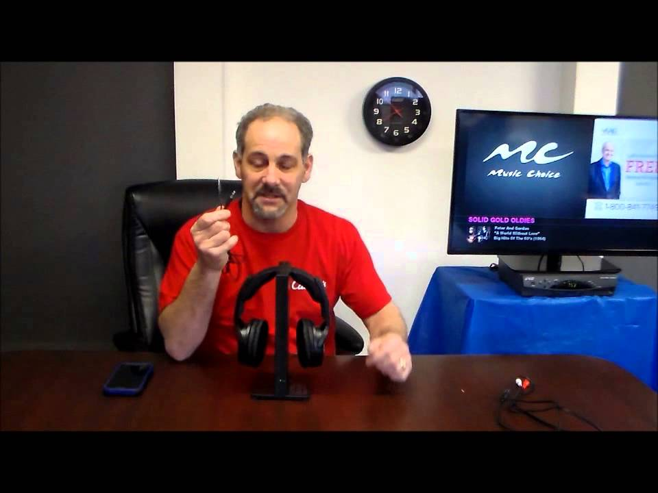 Sony Mdr Rf985rk Rf Wireless Tv Headphone System Youtube