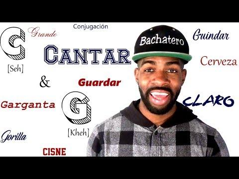 Real Spanish Pronunciation #3: C  & G