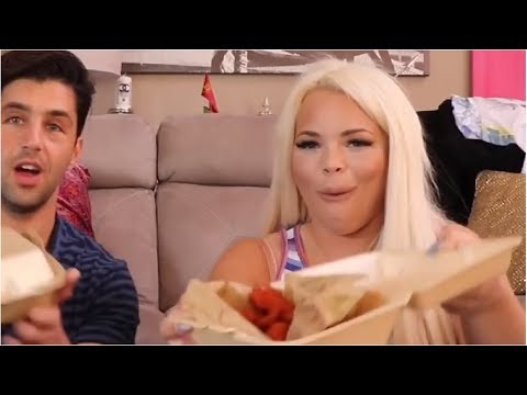 Trisha Paytas Getting Excited Over Food: a...