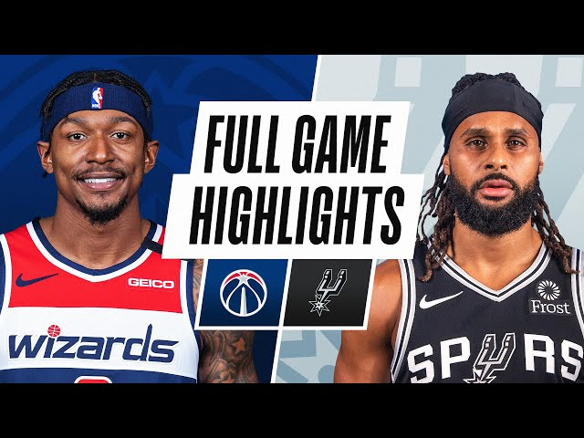 WIZARDS at SPURS | FULL GAME HIGHLIGHTS | January 24, 2021