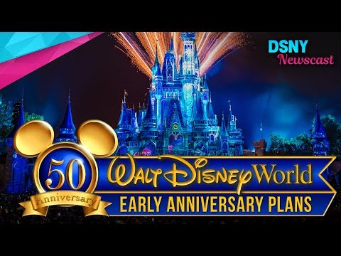 Walt Disney World's 50th Anniversary Celebration Plans for 2021 - Disney News - 6/4/17