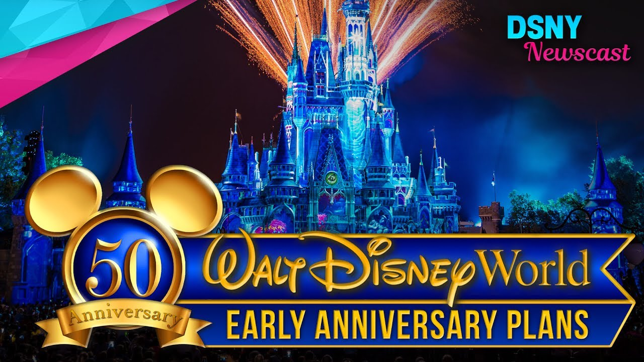 Walt Disney Worlds 50th Anniversary Celebration Plans for 2021