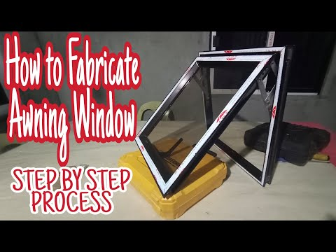 Step by Step/How to Fabricate or Paano Mag Assemble ng Awning Window using WYC Series