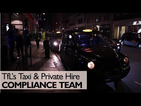 TfL's Taxi & Private Hire Compliance Team