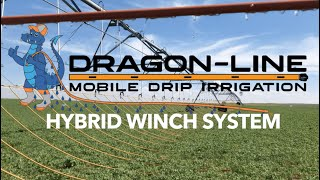(NEW) Dragon-Line Orange Mobile Drip Irrigation - Hybrid Winch System