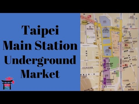 Guide to the Taipei Main Station Underground Market | Wherever I Want