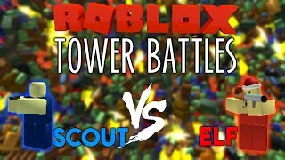 SCOUT vs ELF? Roblox Tower Battles