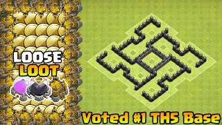 Clash of Clans - Town Hall 5 (TH5) Farming Base | TH5 Defense Base 2015