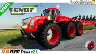 FS19 | FENDT TRISIX v2.1 - review