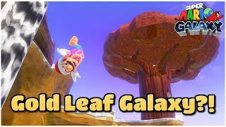 Mario Galaxy's HONEYHIVE GALAXY in Super Mario Odyssey - BeardBear