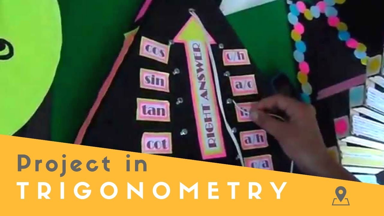 trigonometry project Nothing like a good criminal investigation to liven up geometry in this project, students will work in teams to investigate the culprit of six fictional thefts the criminal has left six messages, layered with geometry practice.